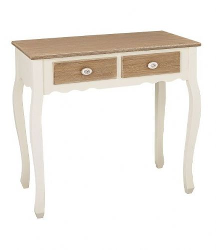 Marseilles White Console Table